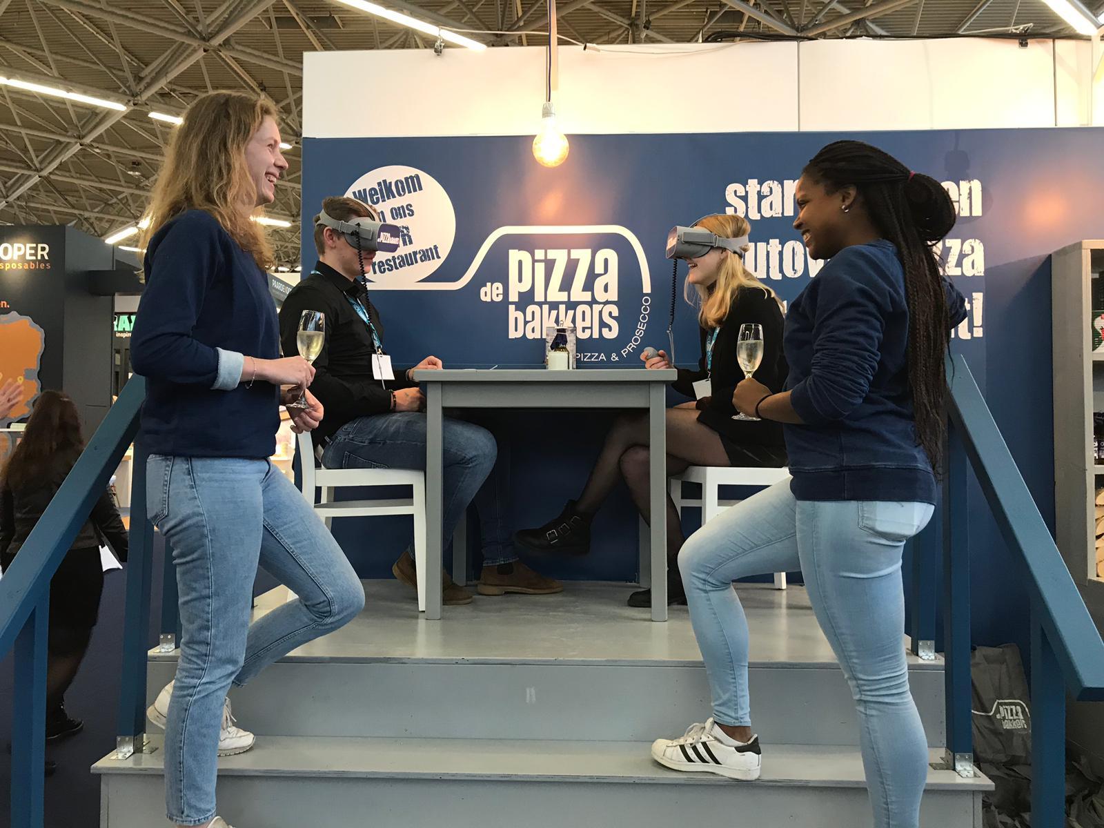 VR Experience Pizzabakkers